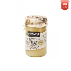 Large organic or crystallized white honey